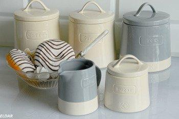 Zestaw ceramicznych pojemników Artisan 6cz