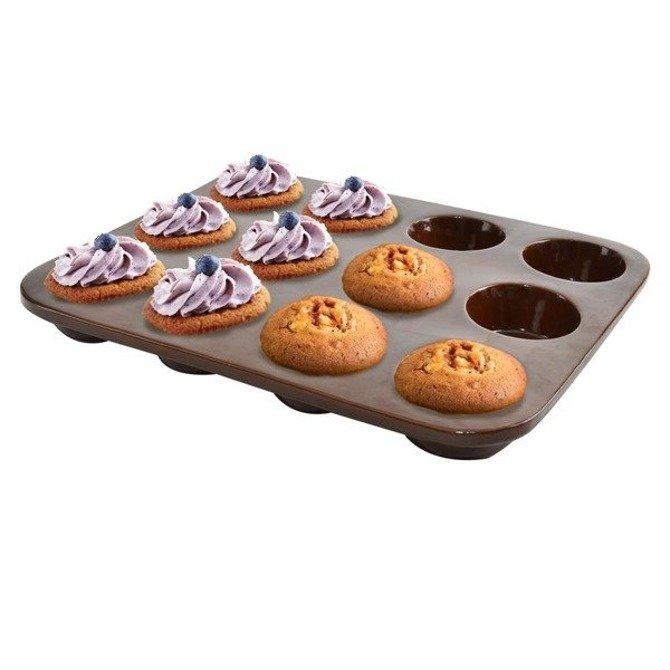 Ceramiczna forma na muffiny 12 szt