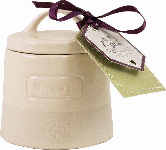 Cukiernica ceramiczna Artisan kremowa