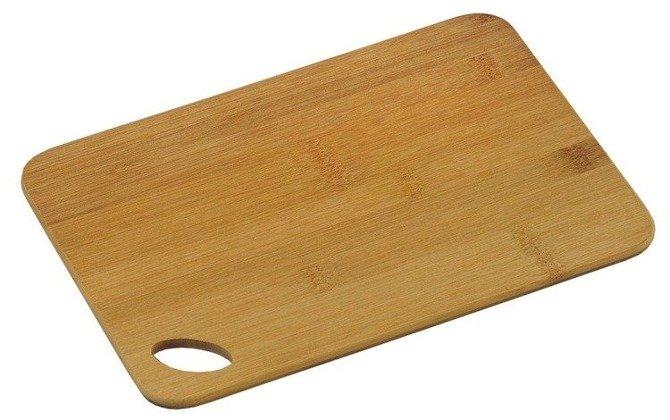 Deska Kesper bambusowa z otworkiem 30x21cm