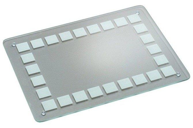 Deska szklana duża przezroczysta KESPER 30 x 40