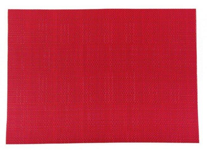 Duża mata kuchenna Granchio 36 x 48 cm malinowa / czerwona
