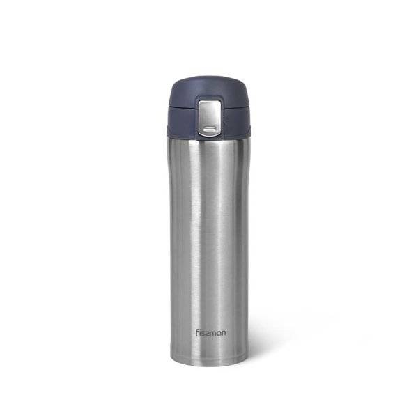 Kubek termiczny 420ml Fissman szary
