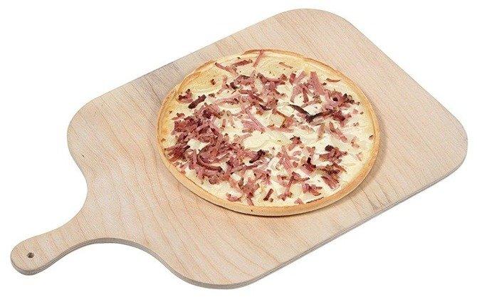 Łopatka do pizzy prostokątna Kesper 38x32x0,8cm