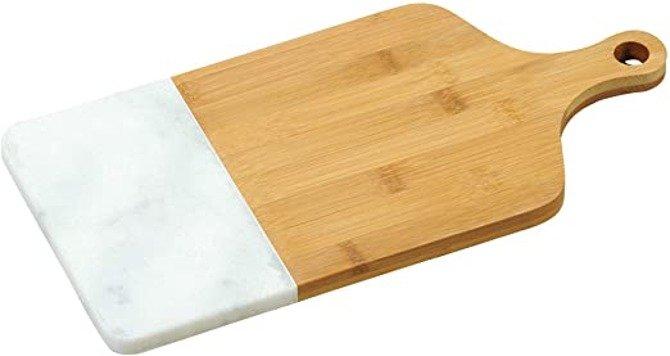 OUTLET (-30%) Deska Kesper bambusowo marmurowa 36x18,5cm