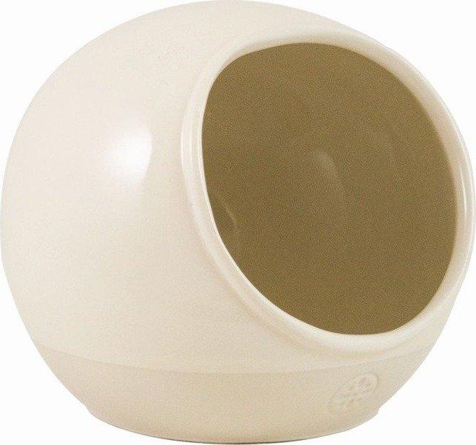 Pojemnik ceramiczny na sól Artisan kremowy solniczka