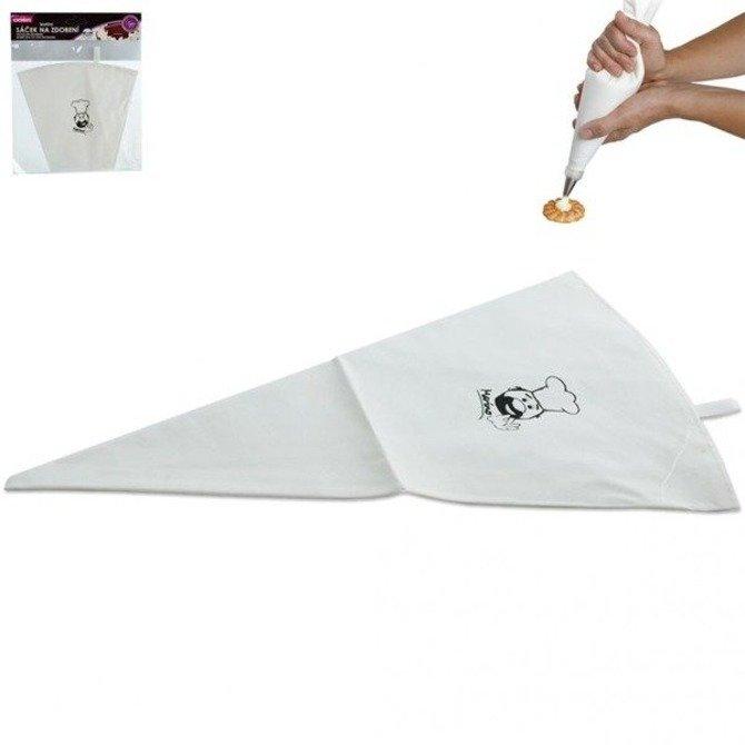 Rękaw cukierniczy bawełniany gumowany 47cm