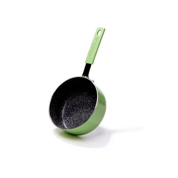 Rondelek z powłoką nieprzywierającą 14cm 0,8L Fissman Mini Chef