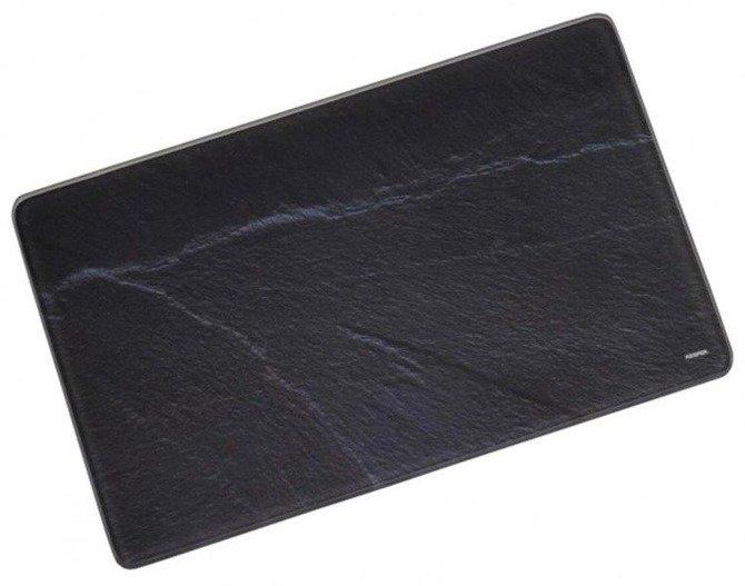 Szklana deska do krojenia 40x30 / Deska szklana KESPER czarny granit